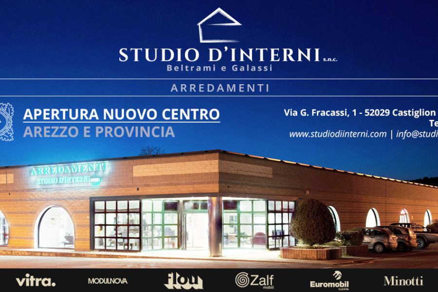 APERTURA NUOVO CENTRO SHOWROOM