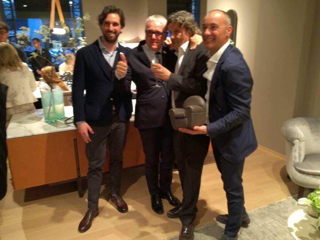 Studio d interni beltrami e galassi awarded by poltrona for Poltrone frau milano